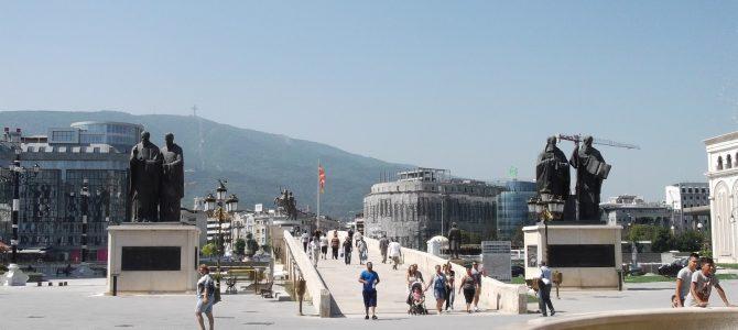 Szkopje, a Vardar völgyének világvárosa