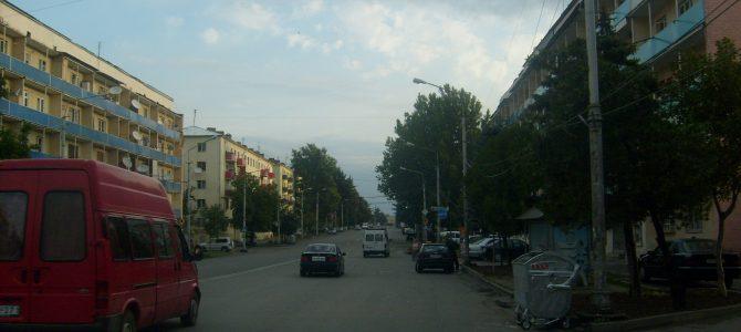 Villámlátogatás Goriban, Sztálin szülővárosában.