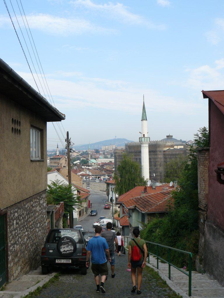 Szarajevó reggel