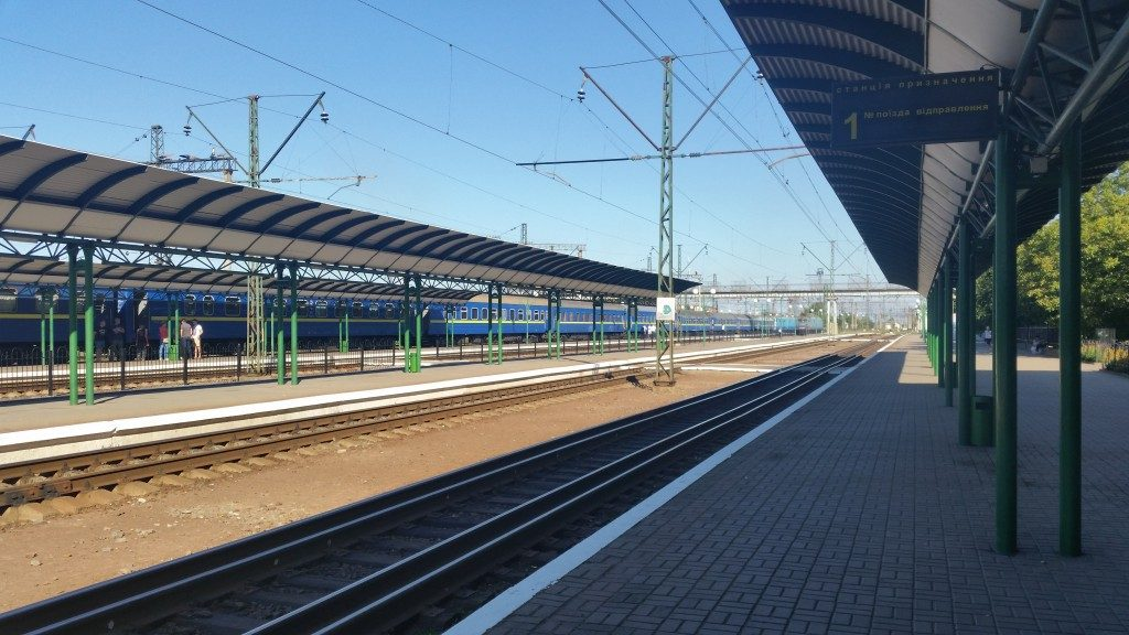 Ungvár - Kijev járat várja indulását Csapon