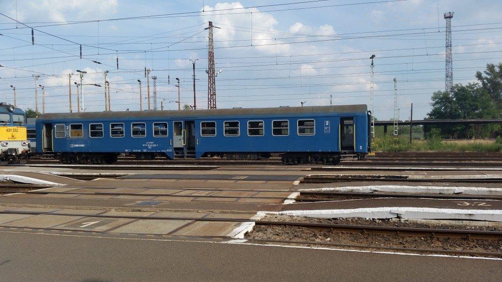 A Záhony - Csap kishatárforgalmi vonat.