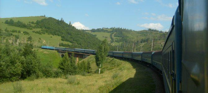 Utazás Csaptól Kijevig vonattal