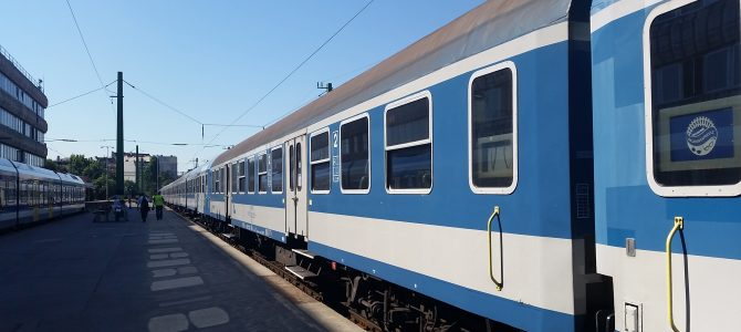 A Balaton vonattal 2020 nyarán