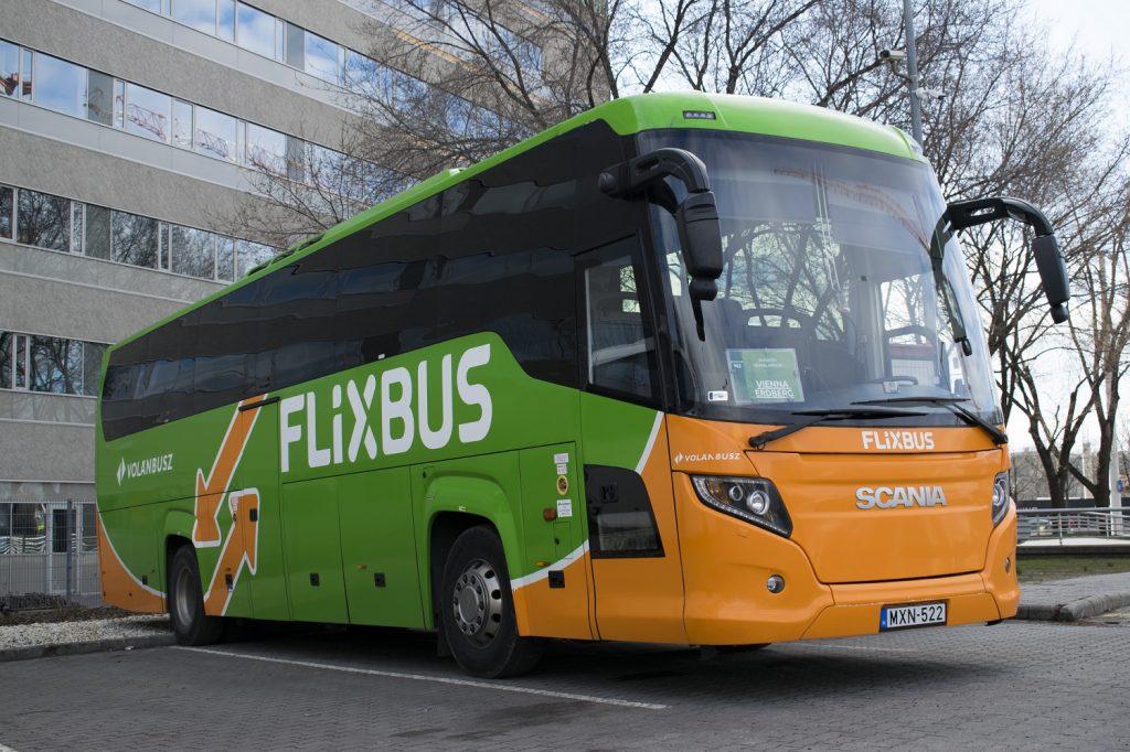 Flixbus Népligetnél