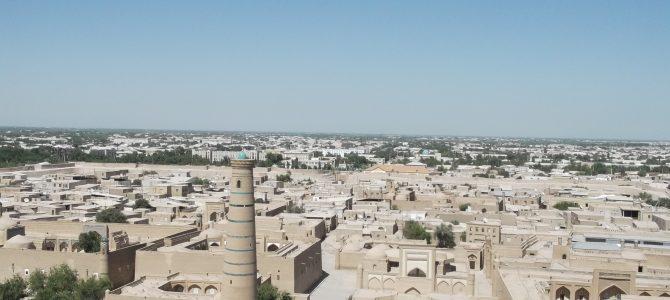 Khiva, a Selyemút legszebb városa