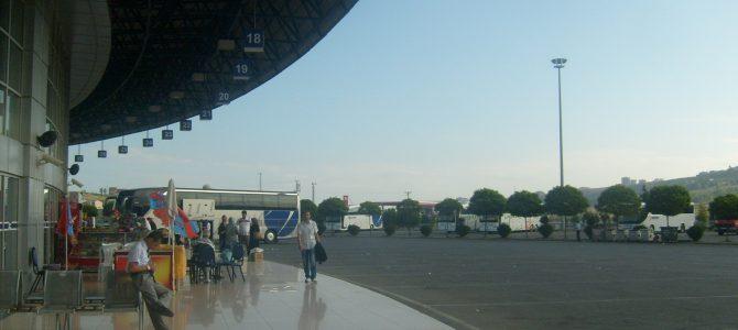 Busszal Isztambultól Tbilisziig