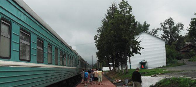 Három nap vonaton, avagy egy félmaratoni vonatozás története
