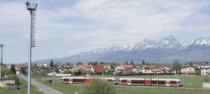 Vonattal a Magas-Tátrába
